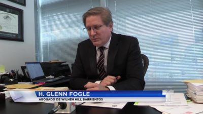 Atlanta Immigration Attorney Glenn Fogle sits down with Telemundo Atlanta